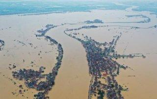 Yangtze flooding in China 200711