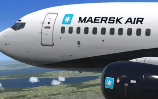 maersk opens air freight service
